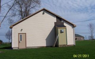 Buffalo Road Lodge Outside back view