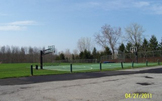Buffalo Road Lodge Outside Basket Ball Court View