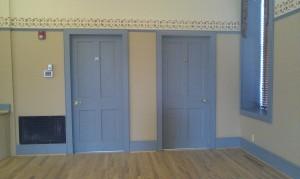 Cobblestone Hall Inside Closet Doors
