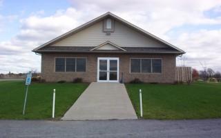 Maher Lodge Outside Front Entrance