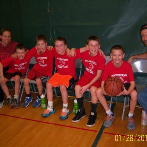 Riga Recreation's 3rd-4th Grade Basketball Team