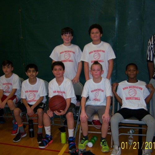 Riga Recreation's 5th-6th Grade Basketball Team