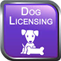Purple Dog license logo